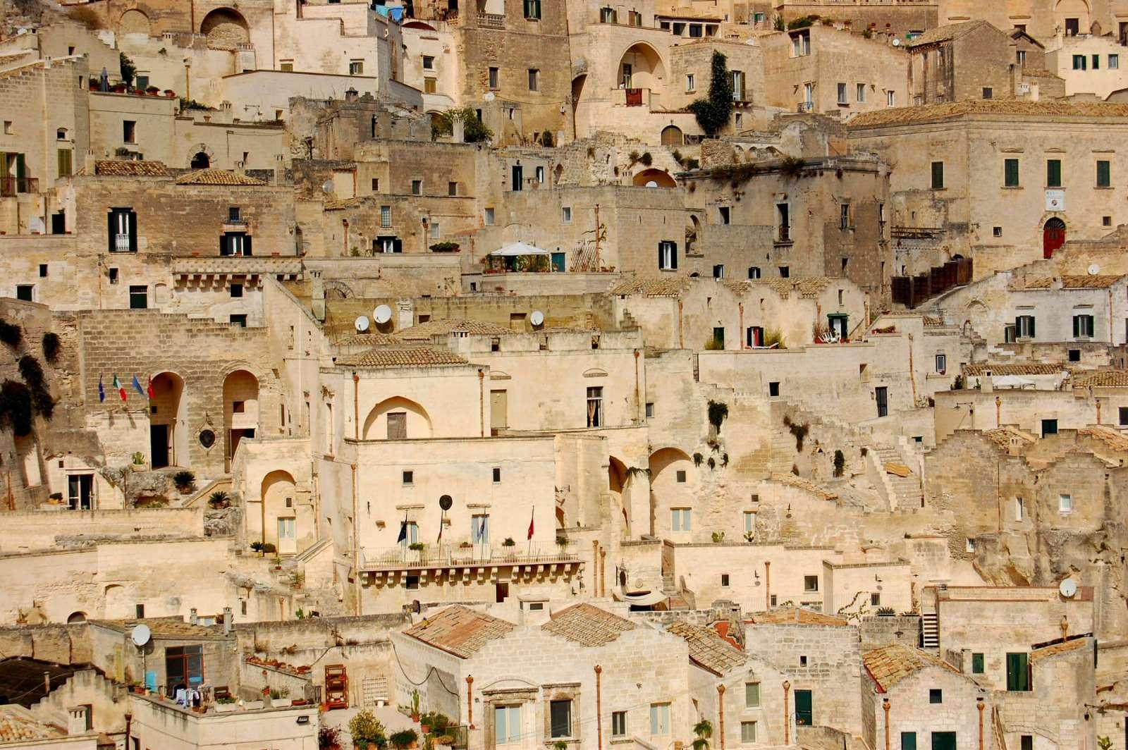 Sassi di Matera est un véritable labyrinthe!