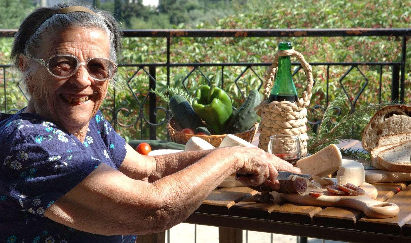 Ost, vin og pølse... Velkommen til Campania