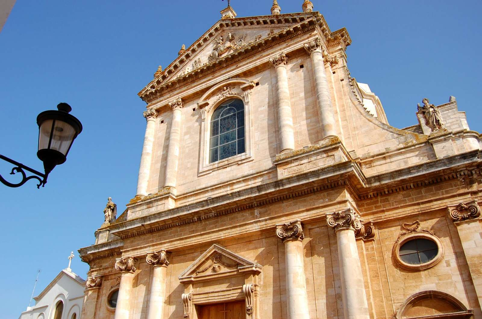 Cathedral's facade
