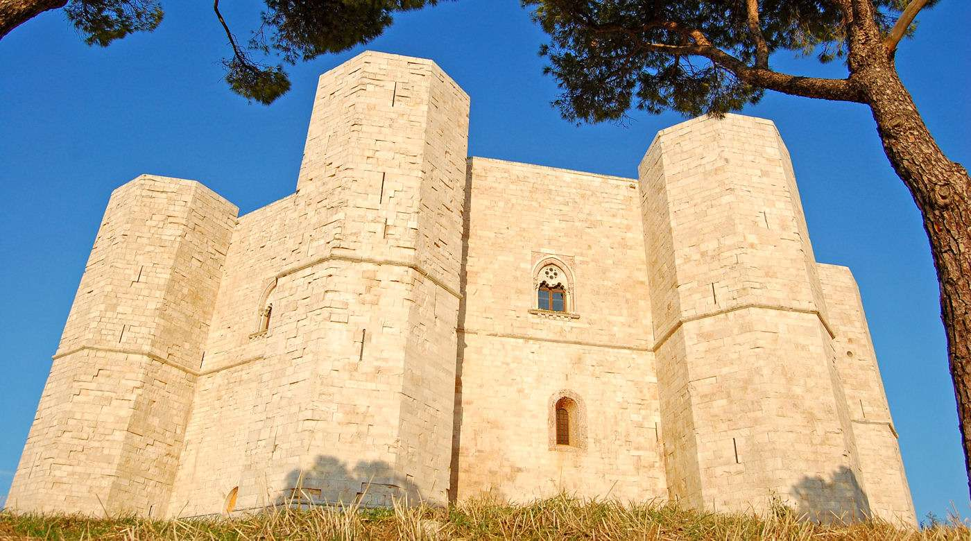 Castel del Monte - included in the UNESCO list