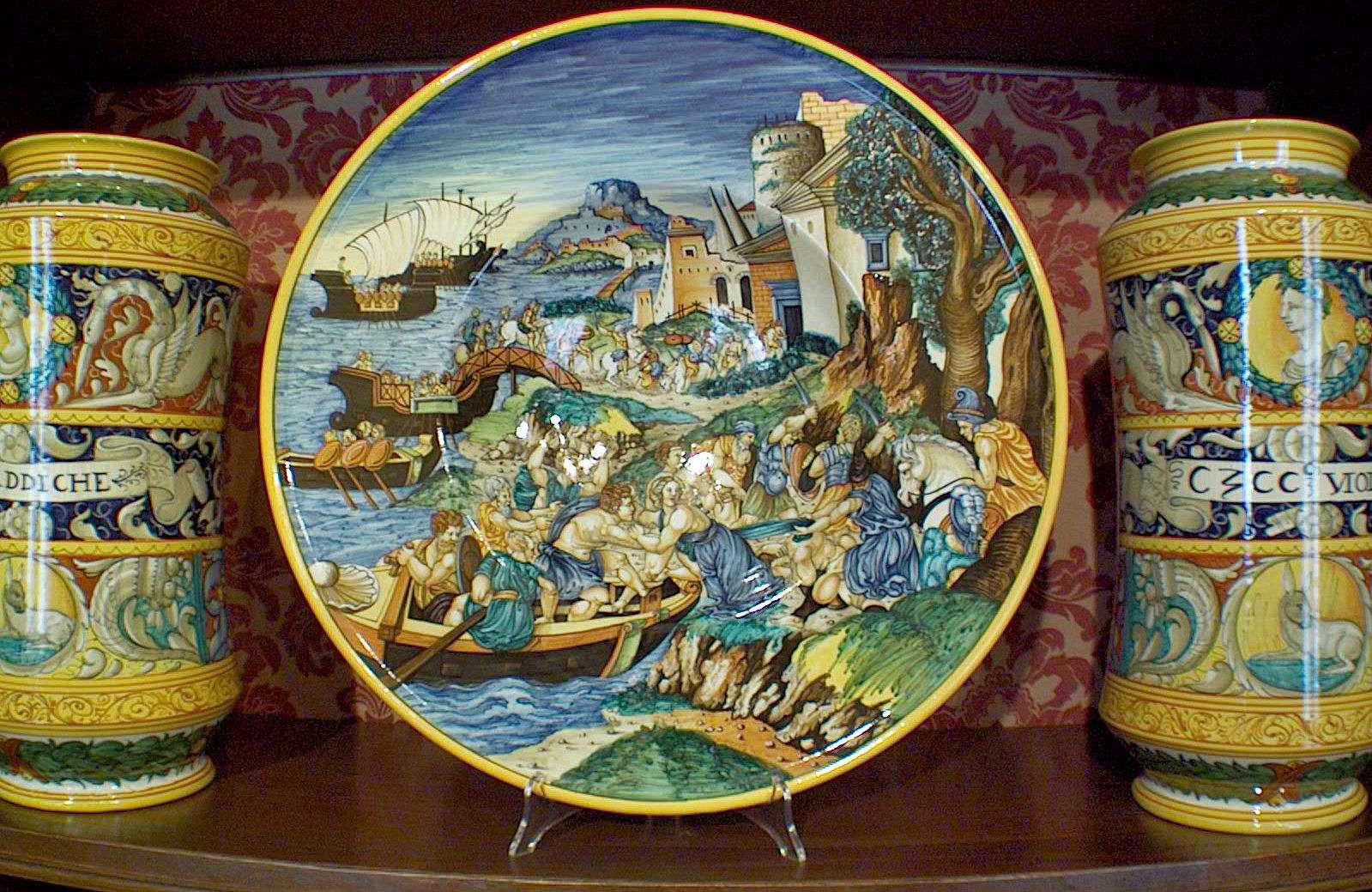 Pottery from Urbania
