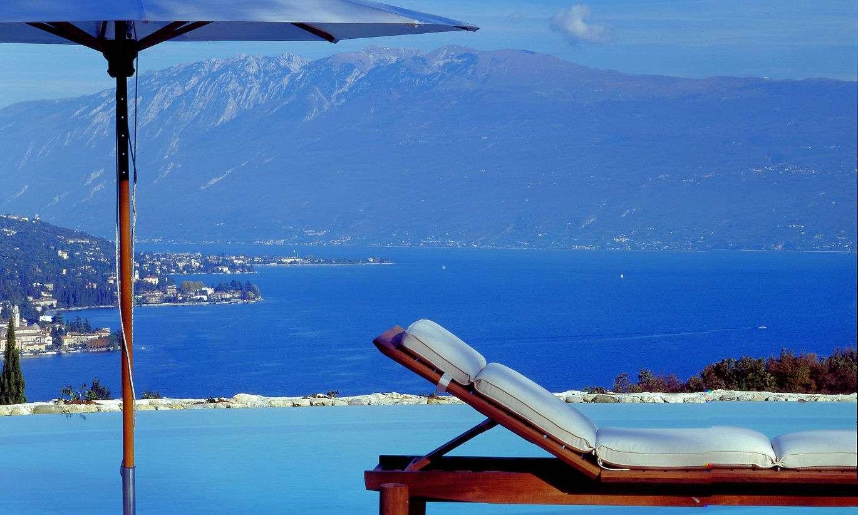 Udsigt ned over Gardasøen