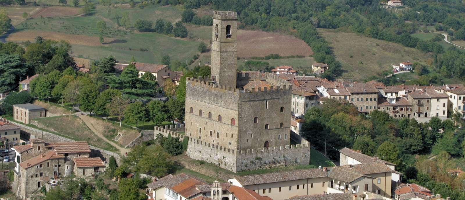 Die Poppi-Burg, Casentinos-Symbol