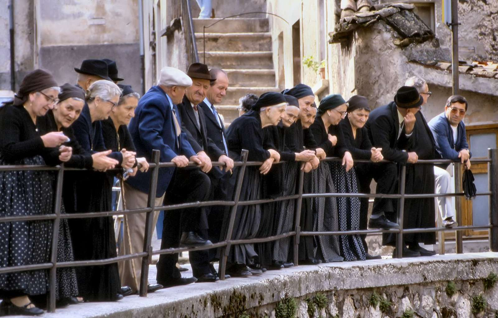 Byns äldre invånare