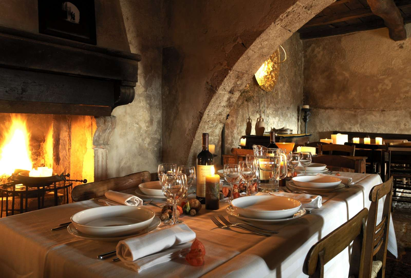 Restauranten Locanda Sotto Glu Archi