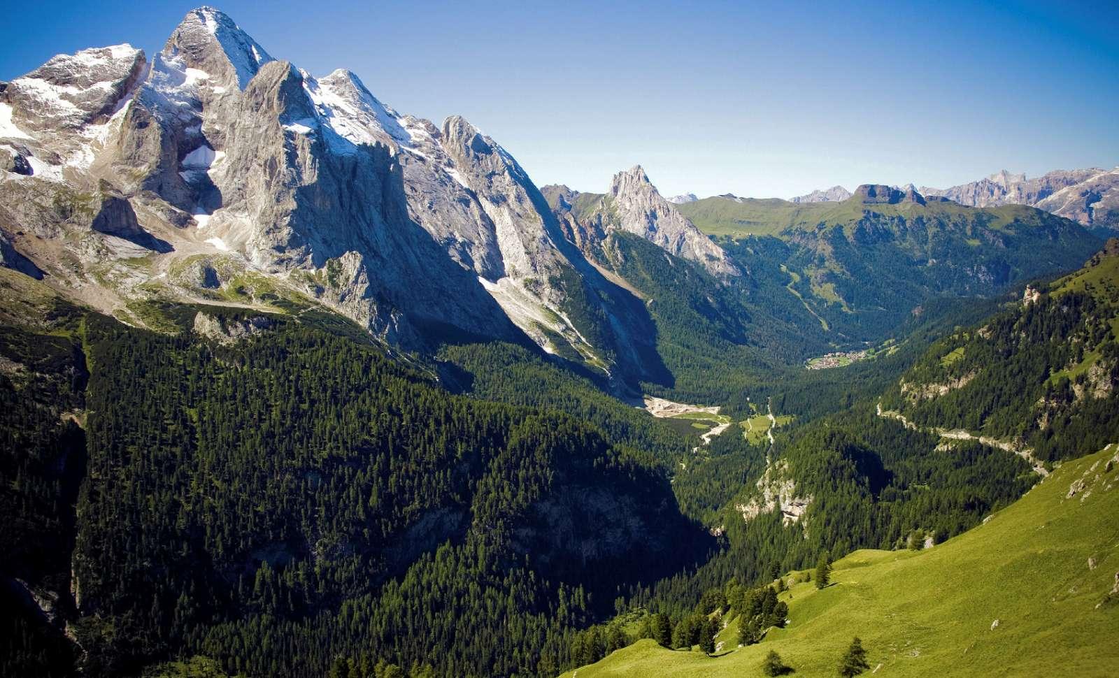 Klassisk bjerglandskab