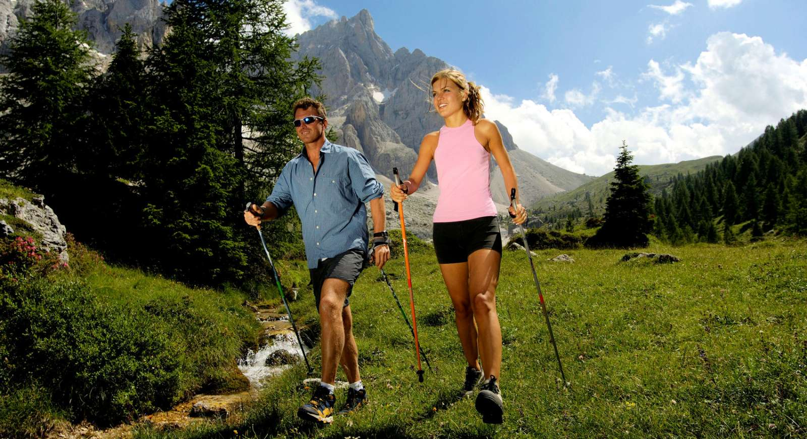 Endless possibilities for hiking in the Dolomites in South Tyrol