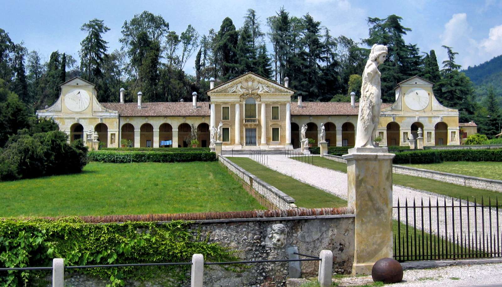 An example of one of many Veneto Palladian Villas