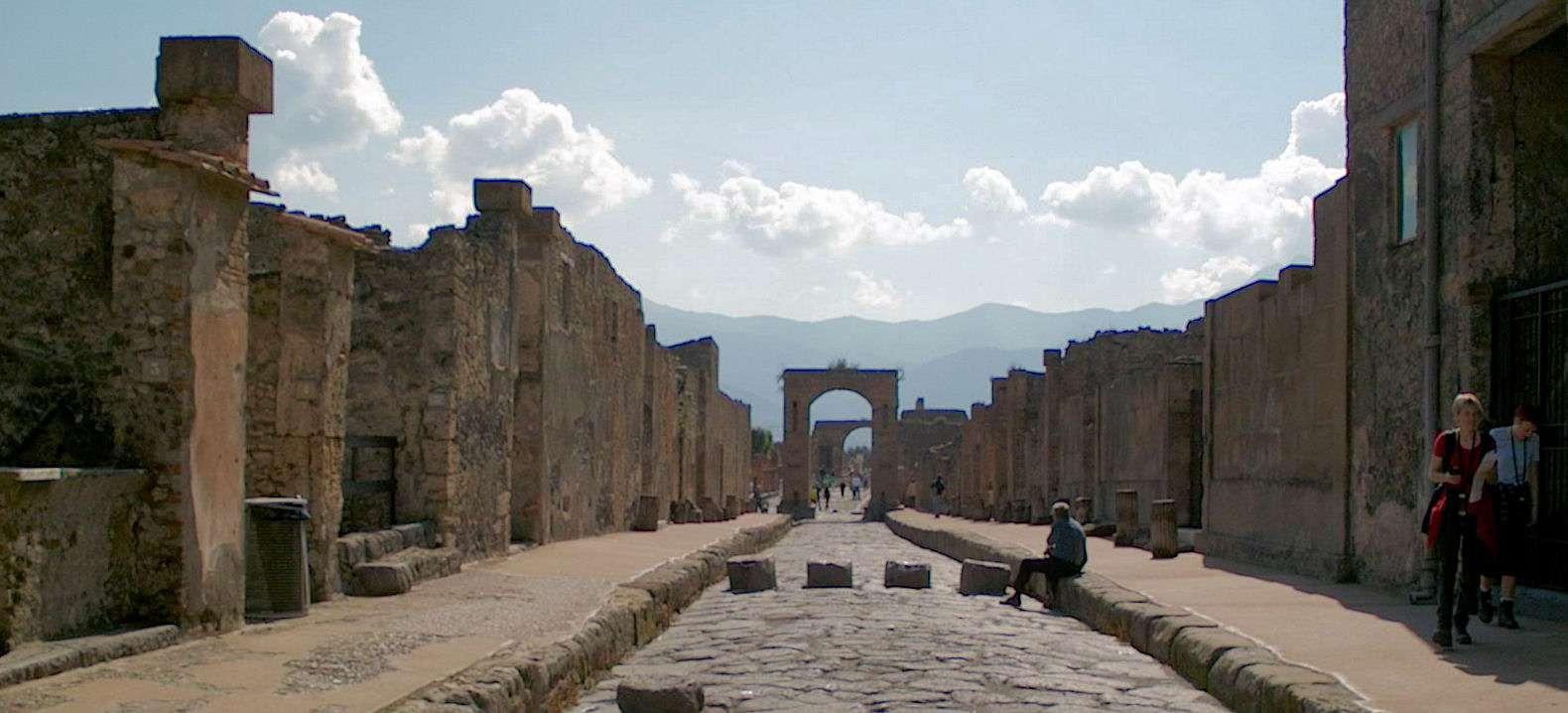 En af de antikke gader