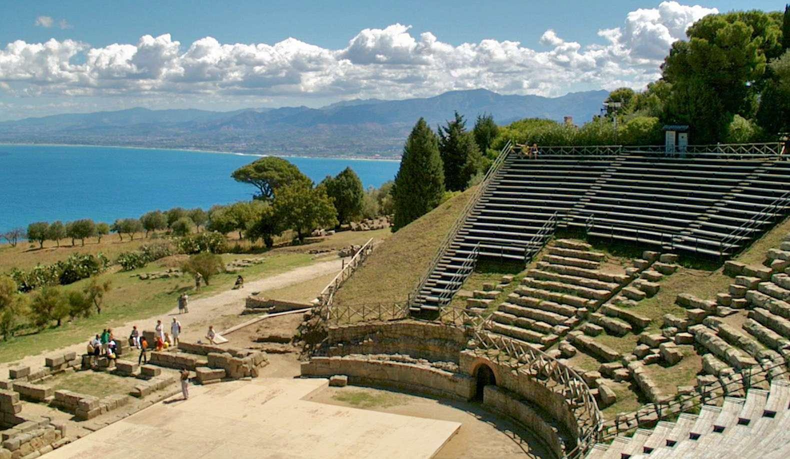 Det græske teater i Tindari