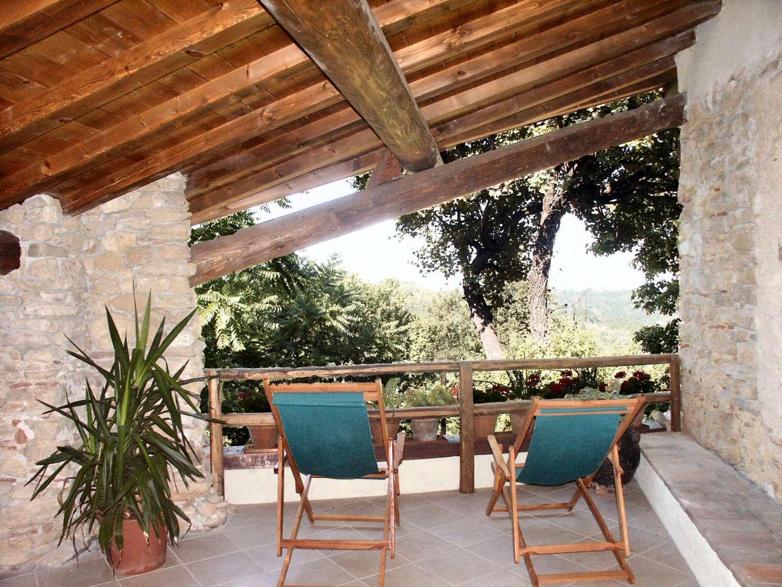 Terrasse til Della Rosa Cinese