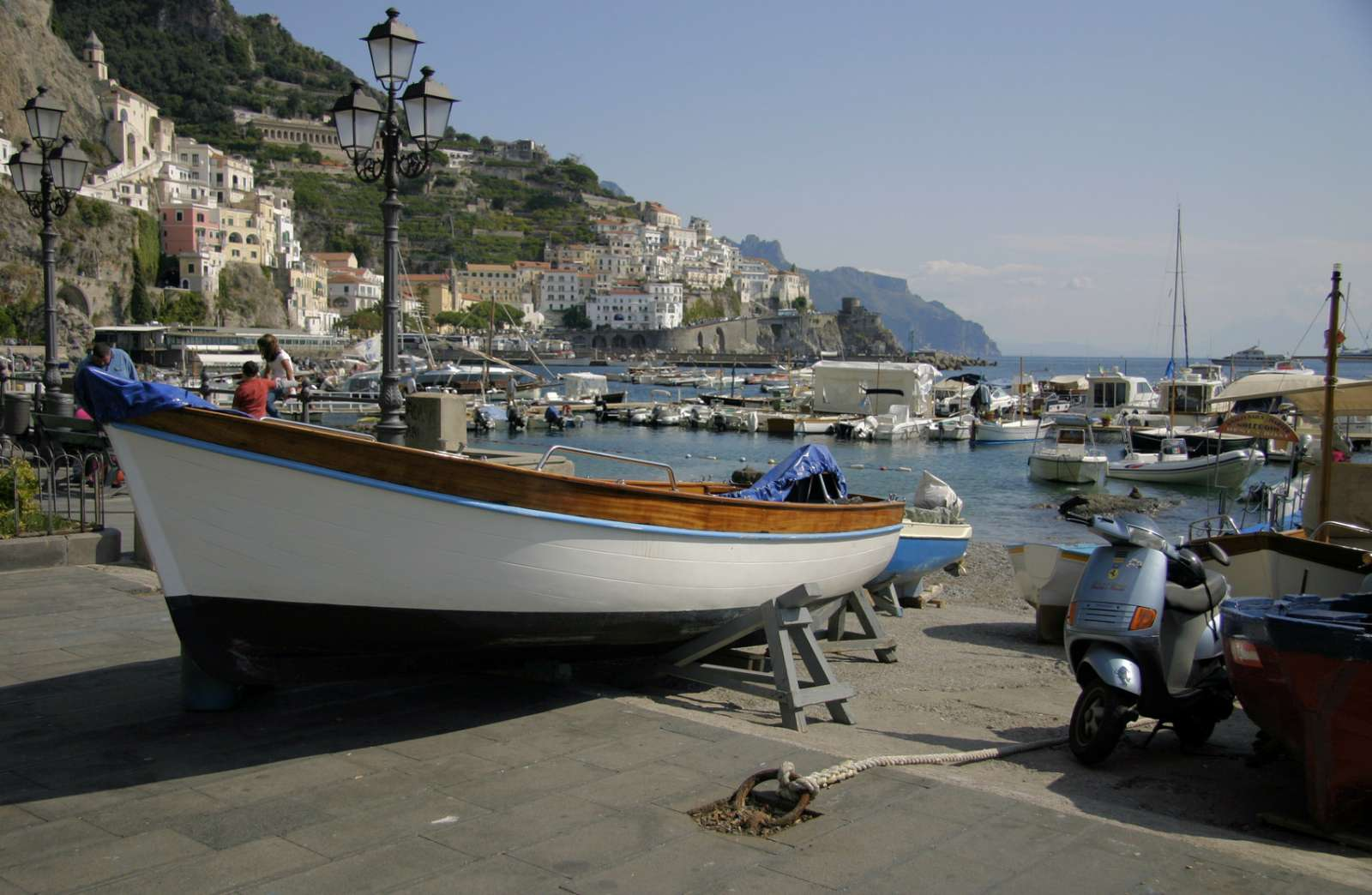 The port of Amalfi