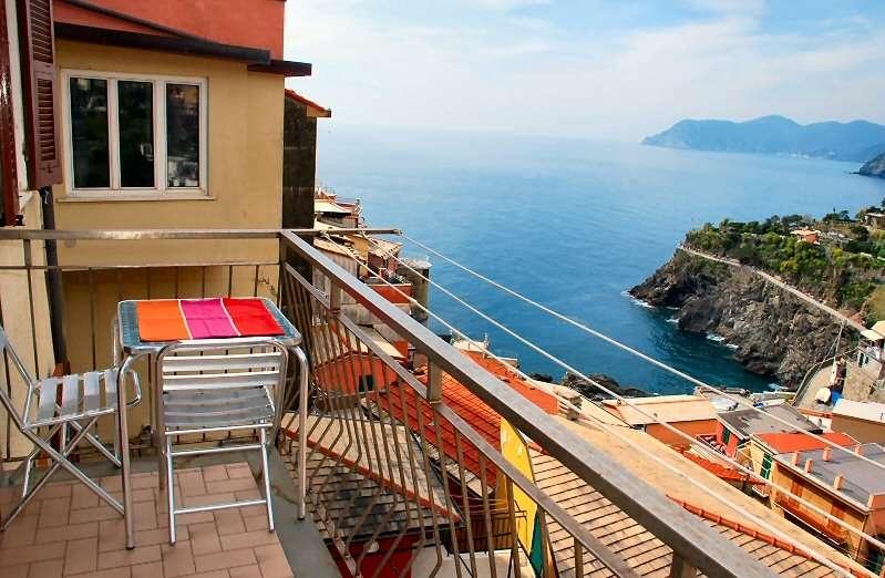 Balcon avec vue sur la mer
