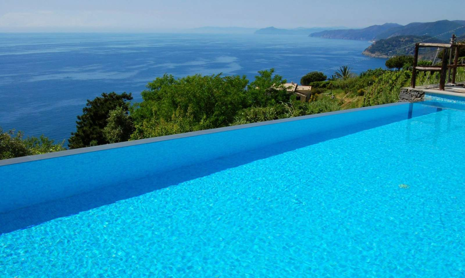 Swimmingpool & Meer