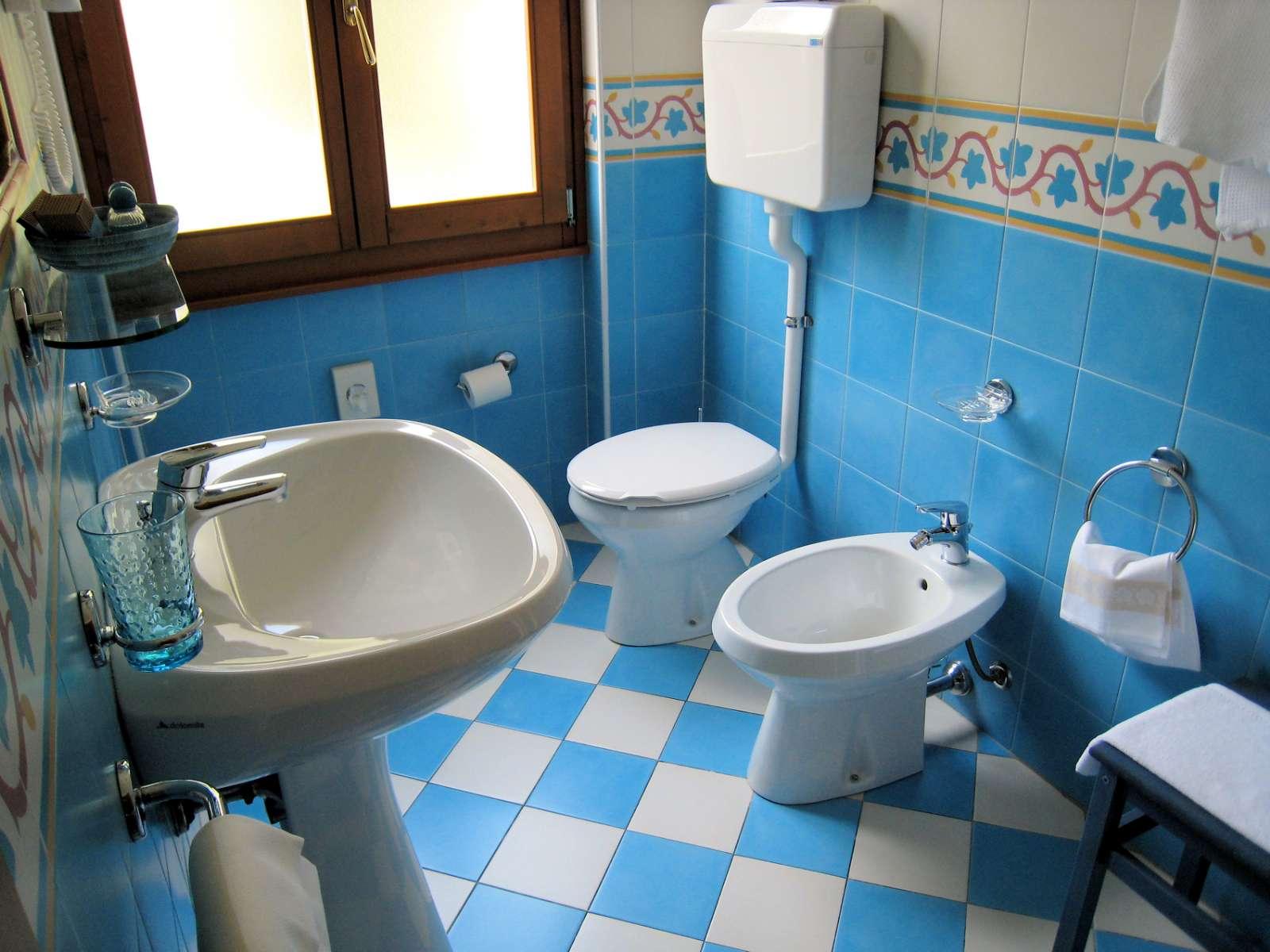 Illustration d'une salle de bain