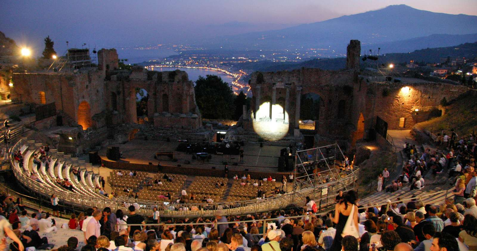 Konsert på den grekiska teatern