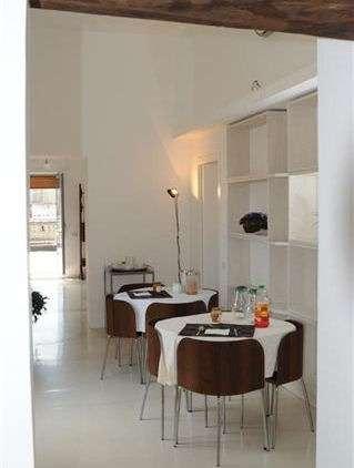 Frukostmatsalen och gemensamt uppehållsrum