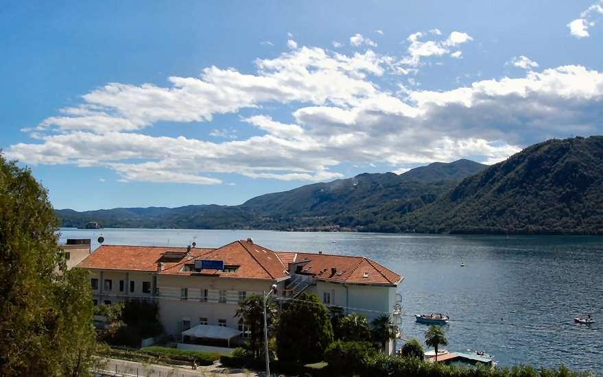 Utsikten från Villa Bin som ligger lite tillbakadraget