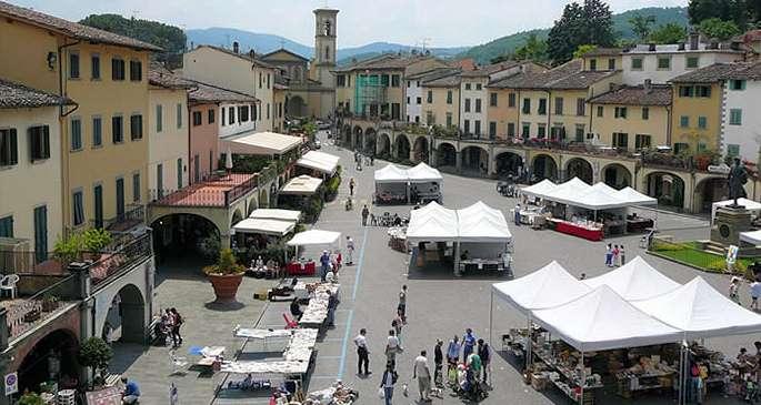 Die Piazza in Greve in Chianti