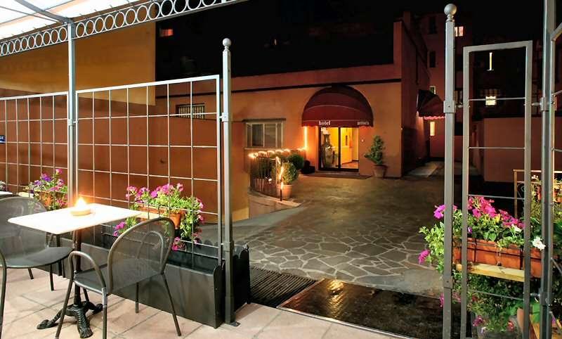 Gårdhave på Hotel Astoria
