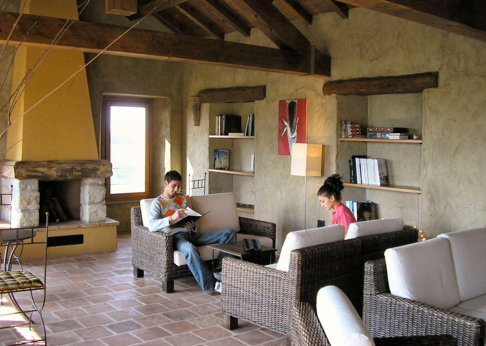 Coin salon et lecture
