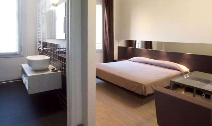 Muàs værelser er moderne og elegante