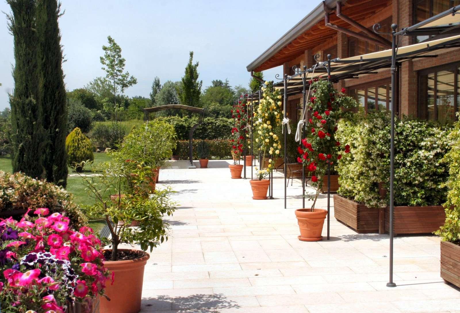 Lejlighedernes private terrasser