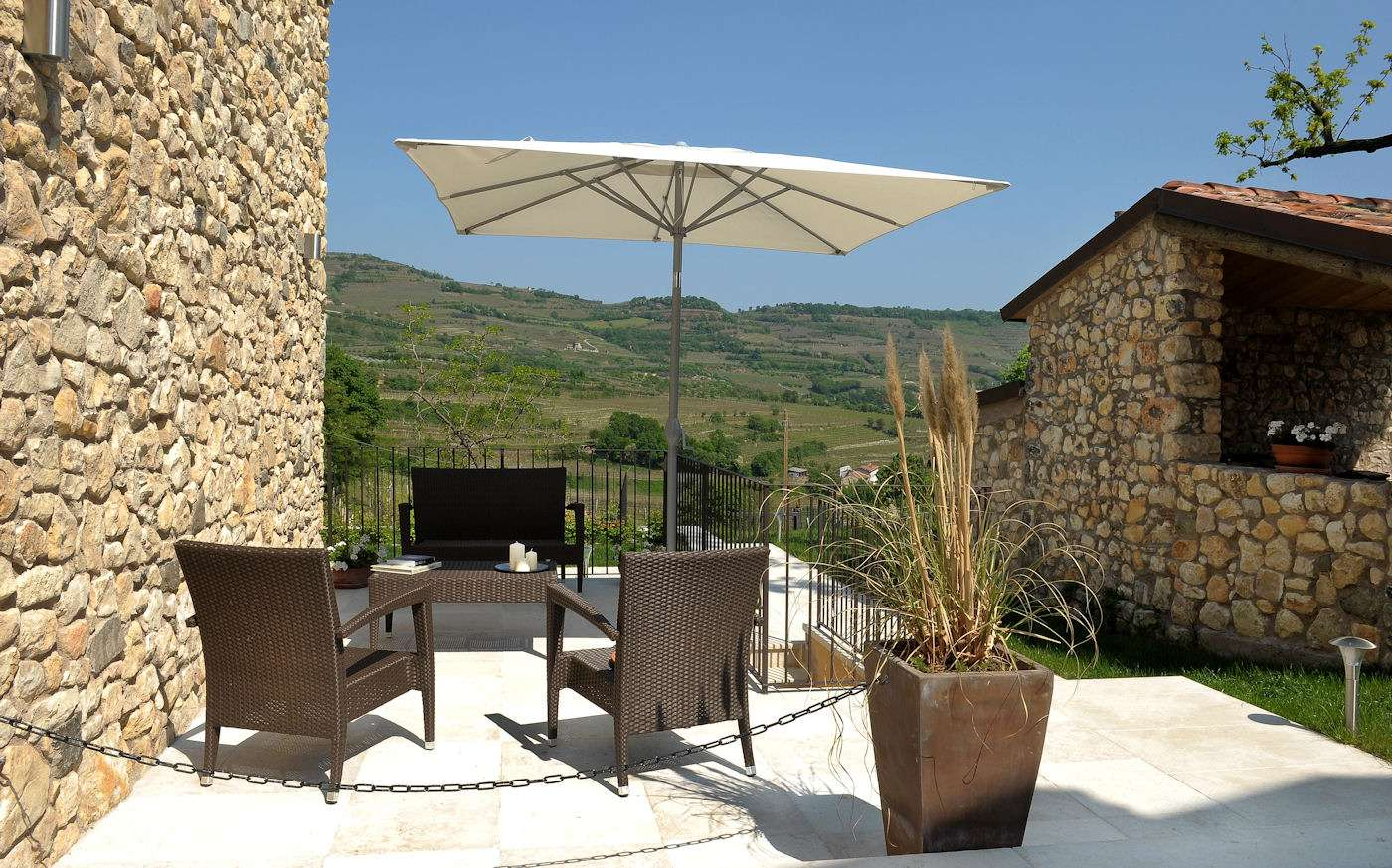 Terrace of Apartment Fieniles