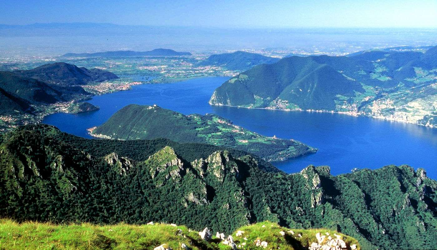 Views over Lake Iseo from Monte Guglielmo (1948 m)