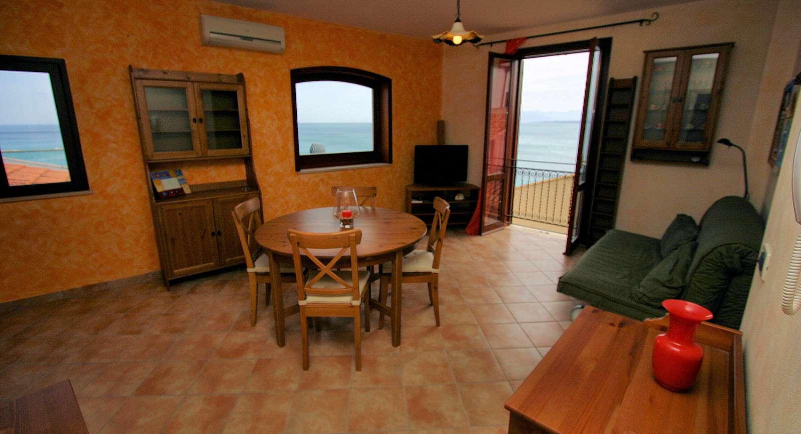 Arancio: salle de séjour
