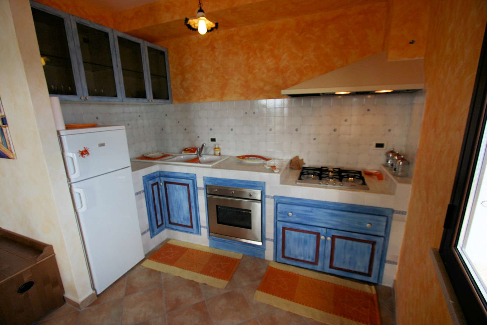 Arancio: kitchen