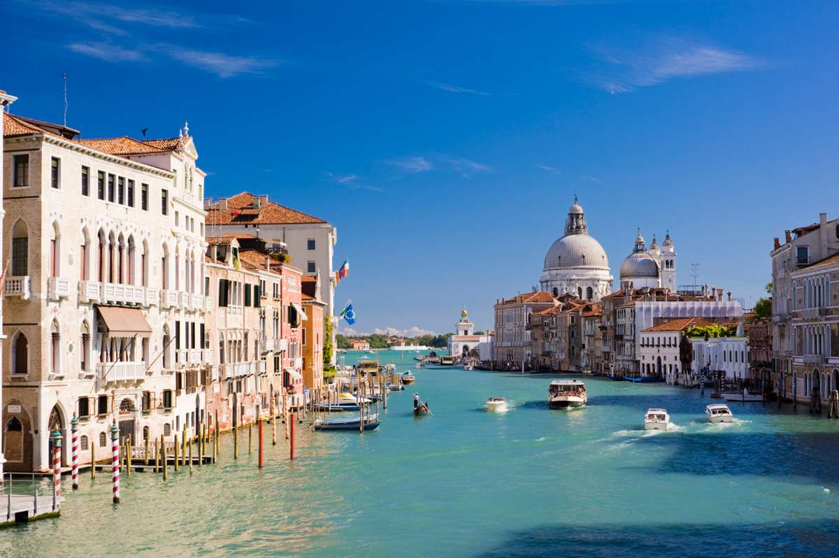 Canal Grande i Venezia