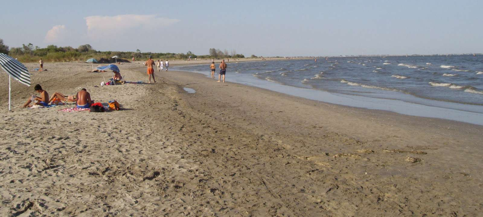 Stranden ved Lido di Volano