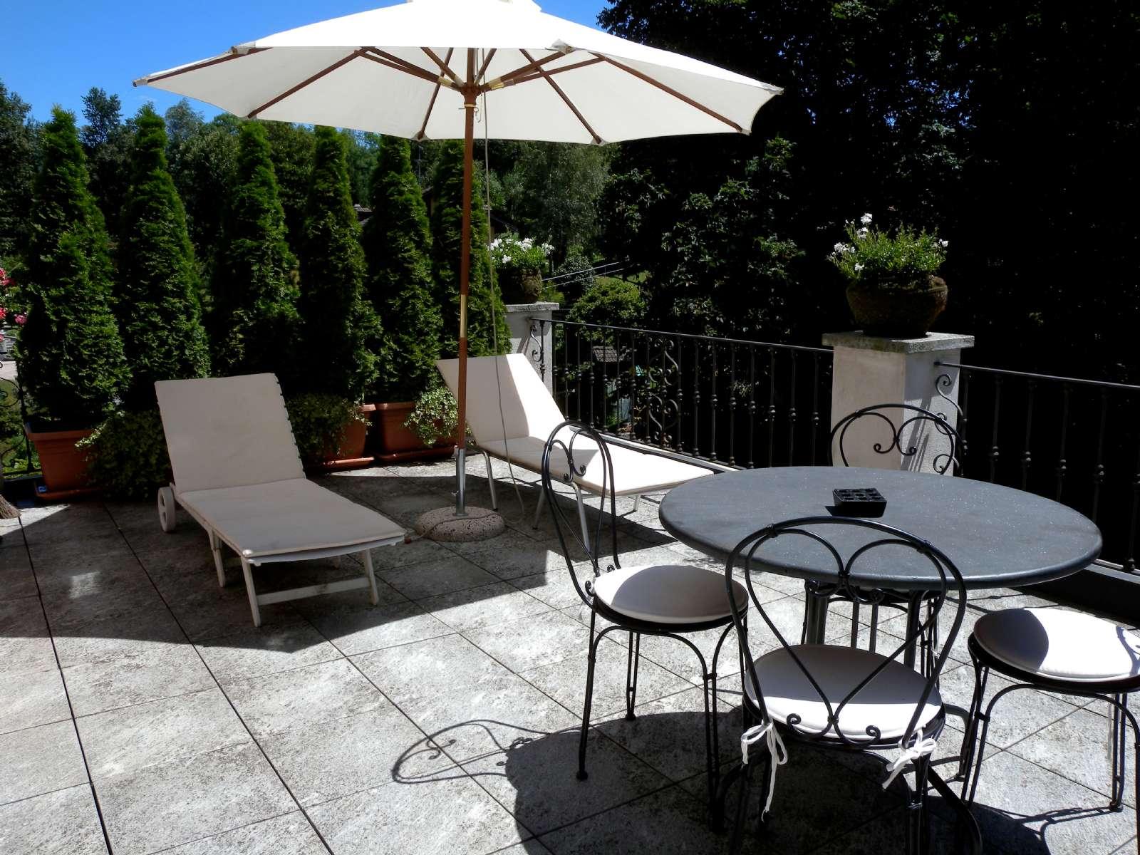 Terrasse til Casa Clò