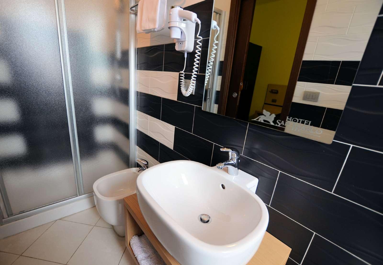 Moderne badeværelser