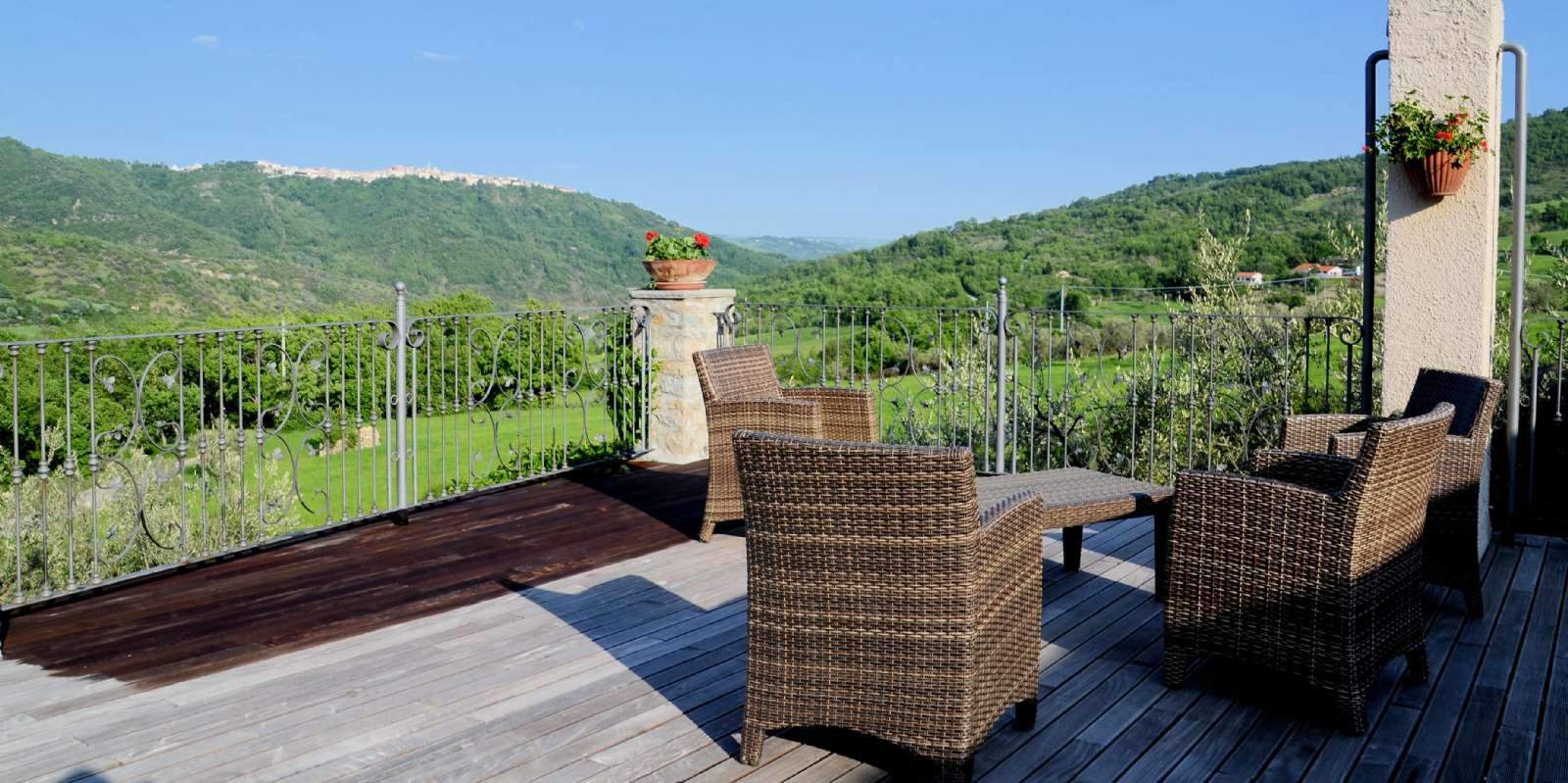 View of Molise's endearing mountain landscape