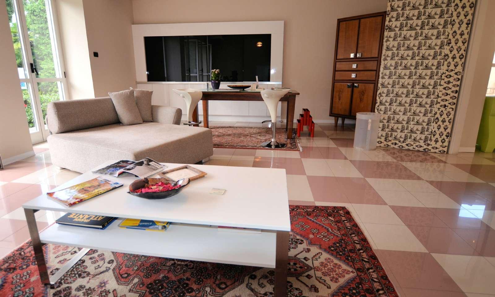Lounge med TV