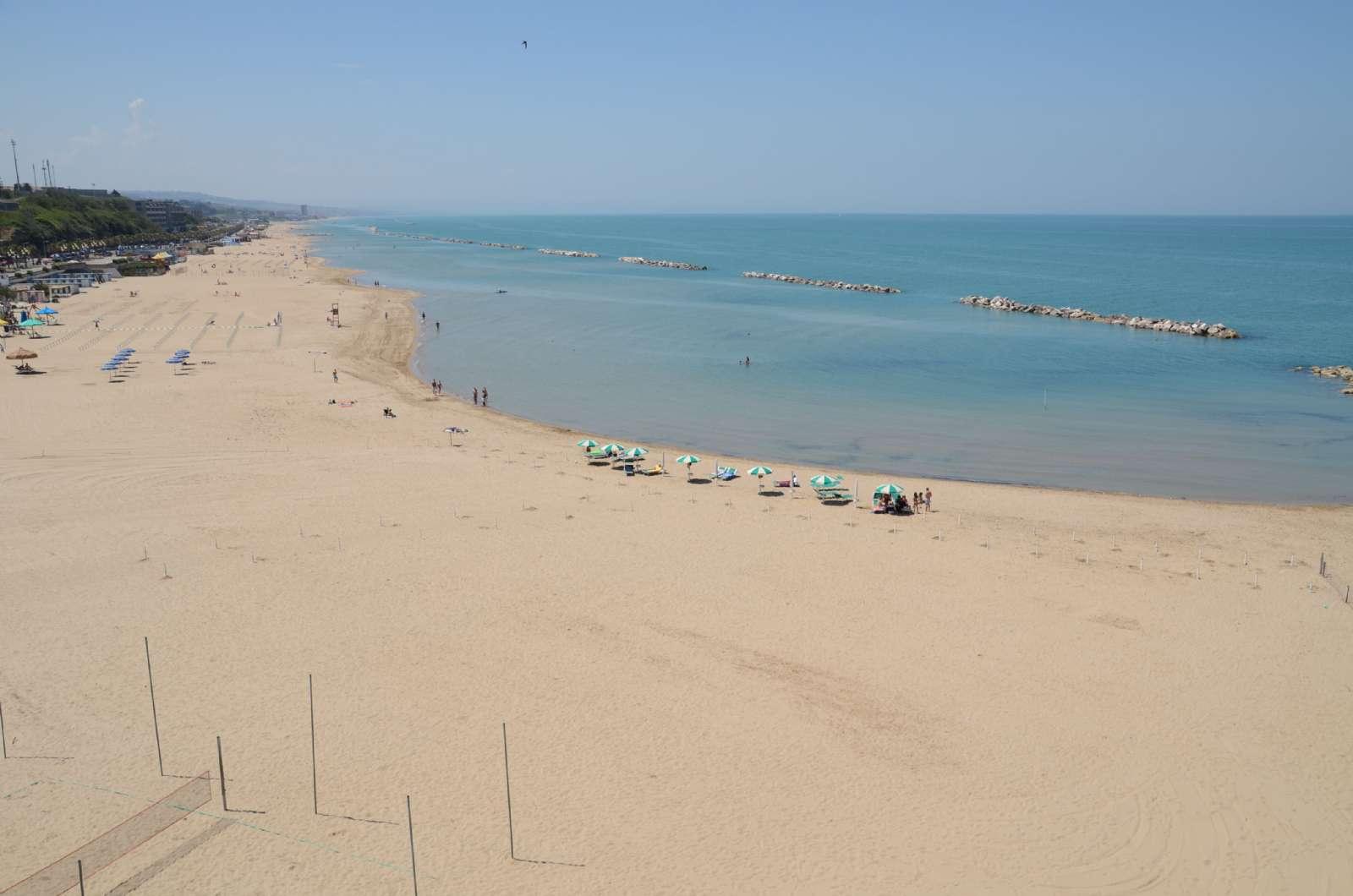 Plage de sable de Termoli