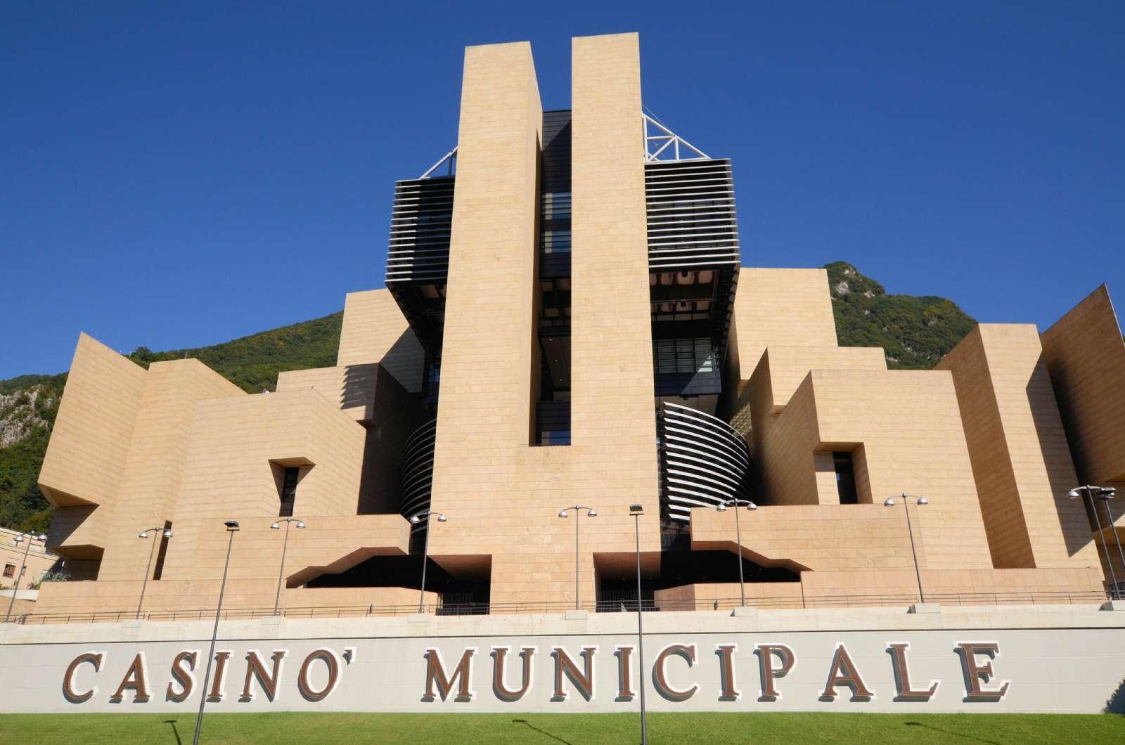 The city's monumental casino