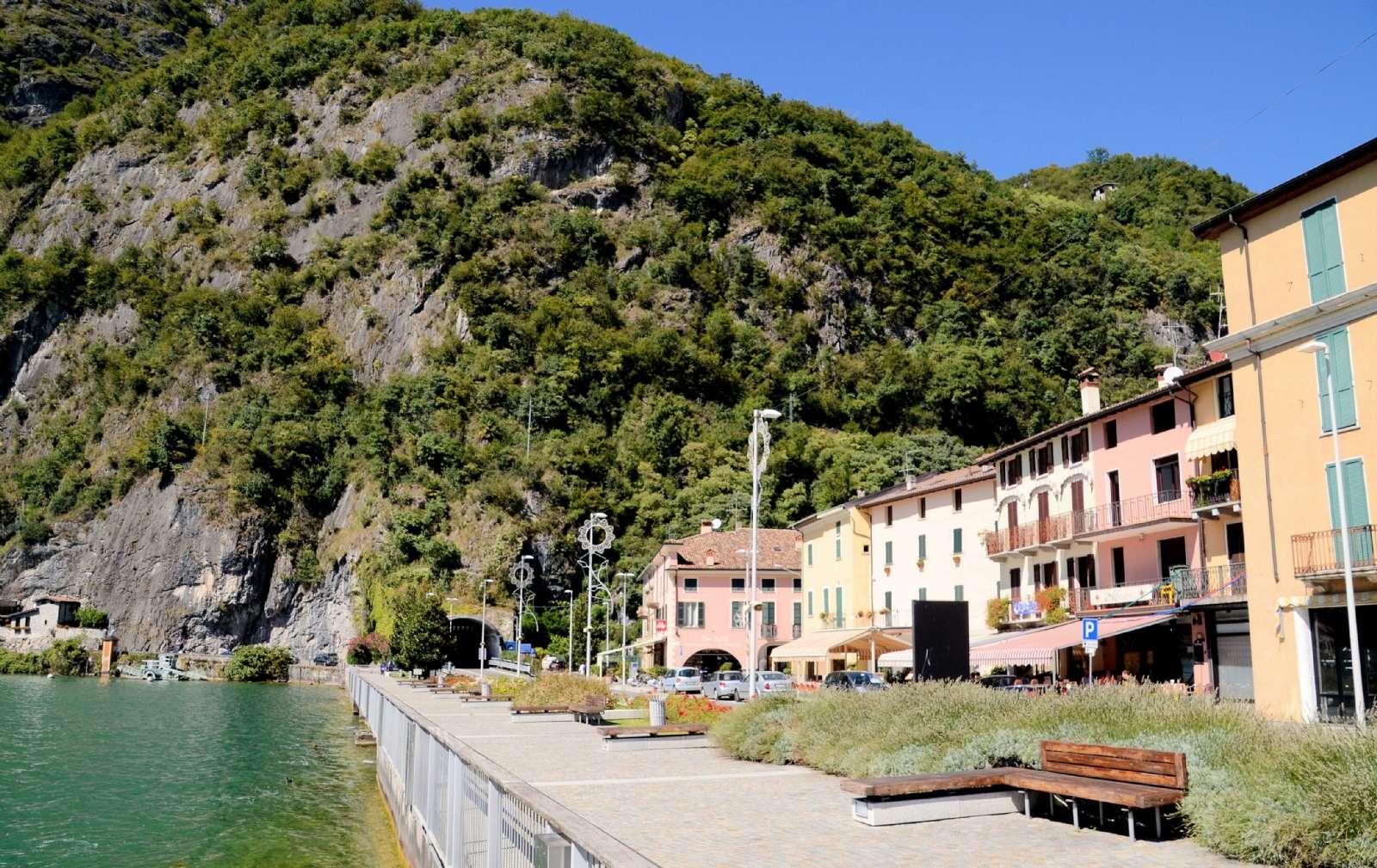 Seepromenade Porlezza