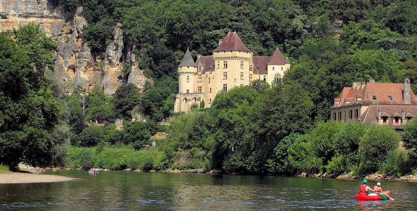 Dordogne floden