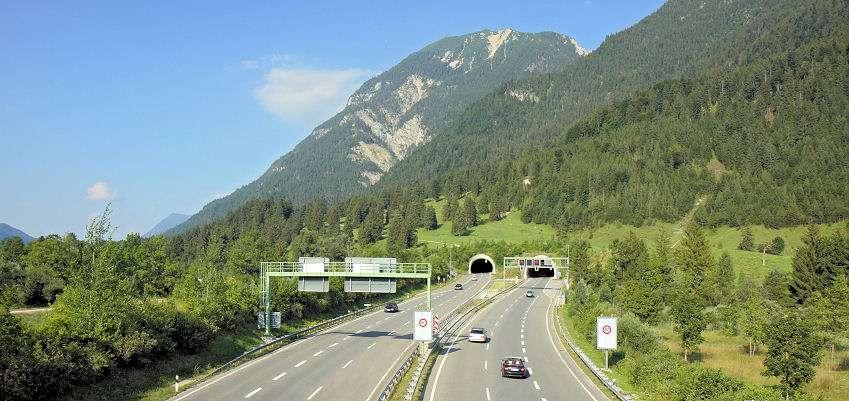Den bedste motorvej fra Danmark til Italien