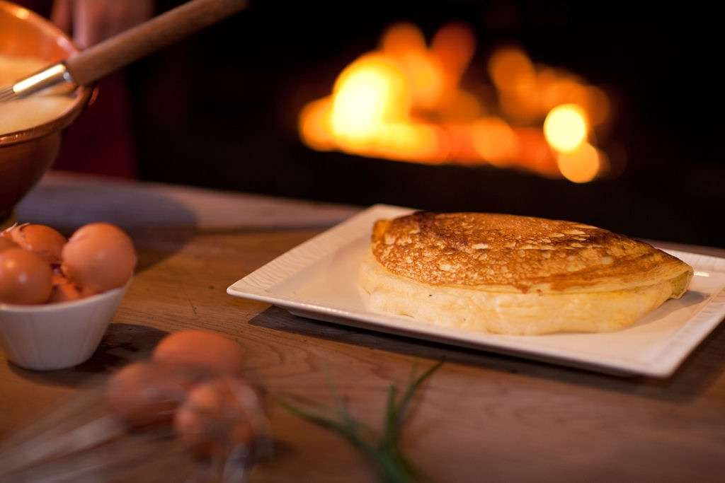 Mère Poulards berömda omelette