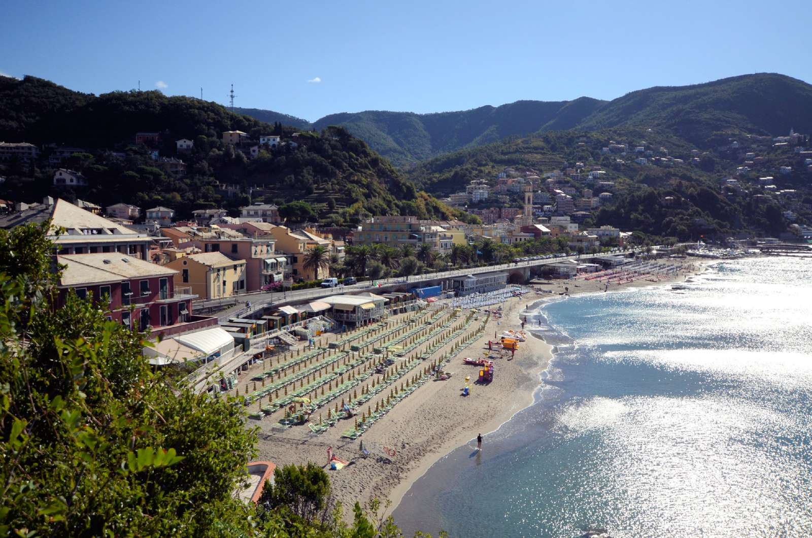 Summer and sun in Liguria