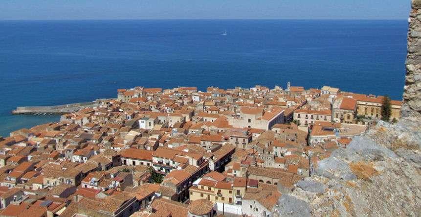 Utsikt över centrum från fästningen