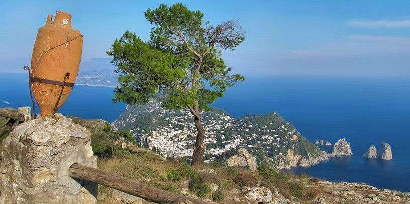 View from Capri highest point