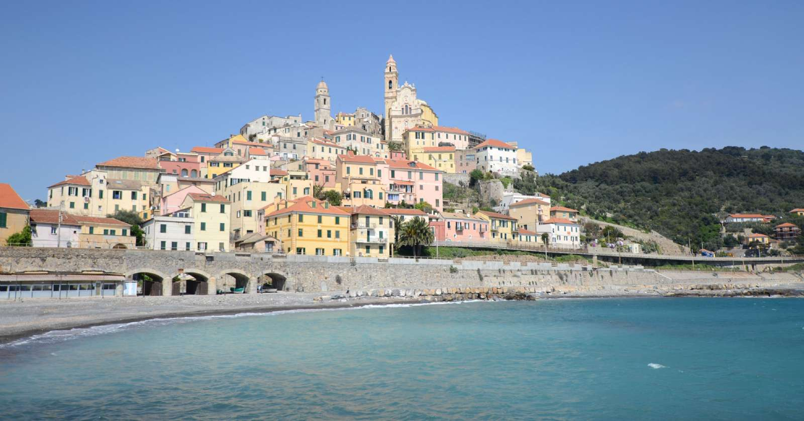 Cervo's picturesque outline