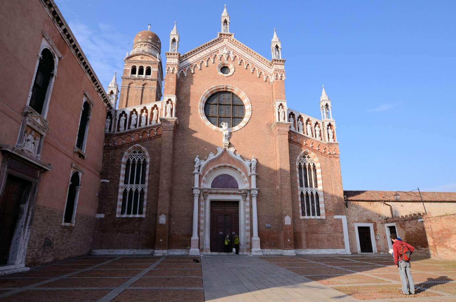 Kyrkan Madonna dell'Orto