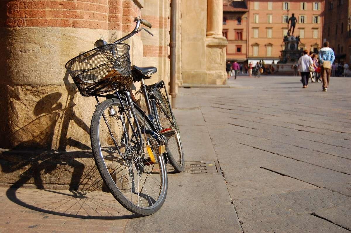 Man cyklar även i Bologna
