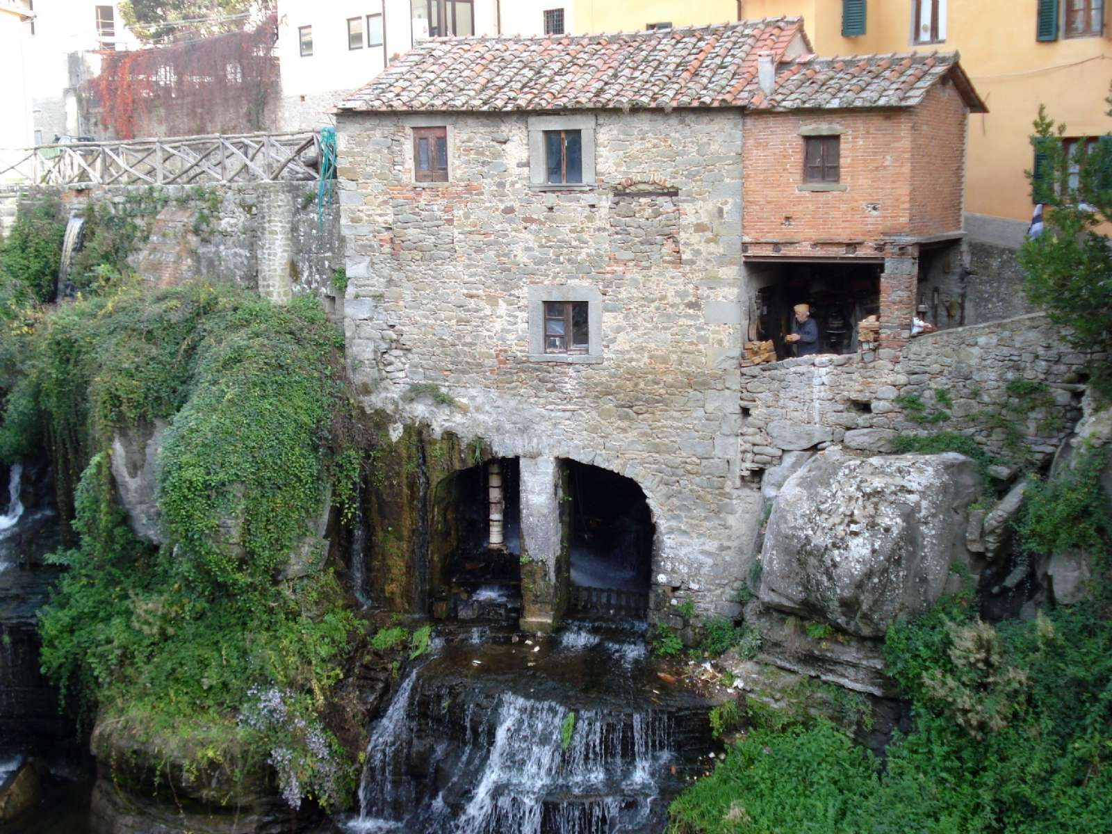 The old mill in Loro Ciuffenna